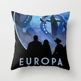 Old Sign / Europa Throw Pillow