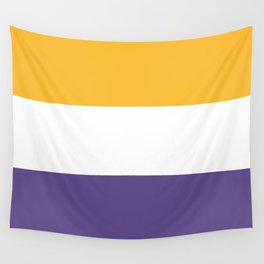 Women's Suffrage Flag Wall Tapestry