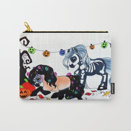 Halloween Ponies Carry-All Pouch