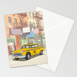 NEW YORK CAB Stationery Cards
