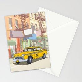 NEW YORK CAB Stationery Cards