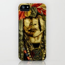 Crying Indian iPhone Case