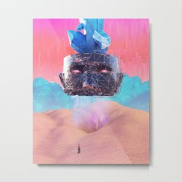 Oracular head Metal Print