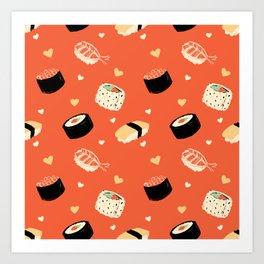 SushiSushi Art Print