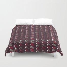 Lovely Dark Red Pattern Duvet Cover