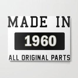 Made In 1969 Metal Print