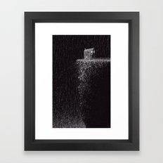 House on Small Mountain Framed Art Print