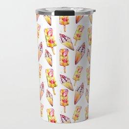 Ice cream pattern Travel Mug