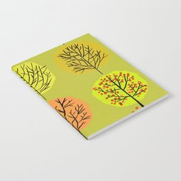 Tidy Trees All In Pretty Rows Notebook