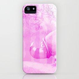 Ghostly Rhino iPhone Case