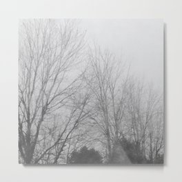 Bleak Metal Print