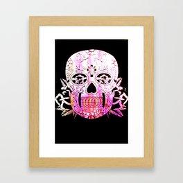 Candy Skull 2 Framed Art Print