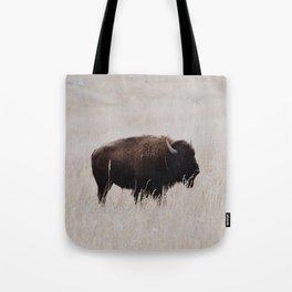 Oklahoma bison Tote Bag