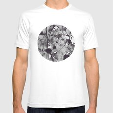 Noir MEDIUM Mens Fitted Tee White