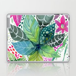 Leafy Tropical Laptop & iPad Skin