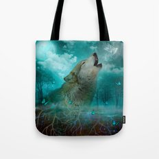I'll See You In My Dreams (Cry of the Wolf) Tote Bag