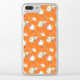 Stu the Rat Clear iPhone Case