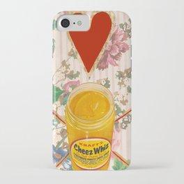 cheez whiz iPhone Case