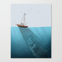 We're Gonna Need a Bigger Boat Canvas Print