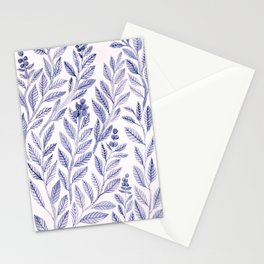 Wild Blue Stationery Cards
