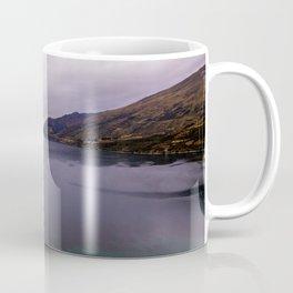 Lake Hawea lake wakatipo blue crystal clear panorama Coffee Mug