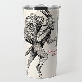 Gruss vom Krampus Travel Mug