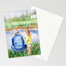 Fishing Memories Stationery Cards