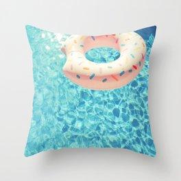 Swimming Pool VII Throw Pillow