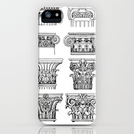 Order of columns iPhone Case