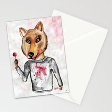 Sweet Wolfy Stationery Cards