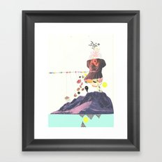 In a Pretty Land---for RVLVR Framed Art Print