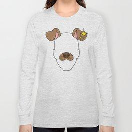 Snapchat Dog Filter Long Sleeve T-shirt