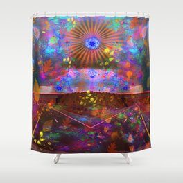 A Glorious Storm Up Ahead Shower Curtain
