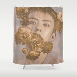 Aphrodite Fragrance | Sehun Shower Curtain
