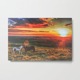 The Magical Palouse Of Washington  Metal Print