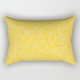 Solar Flare Molten Gold Abstract Rectangular Pillow