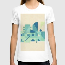 Minimal Futron City T-shirt