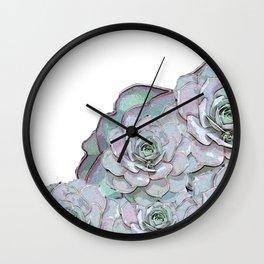 Succulent N.1 Wall Clock