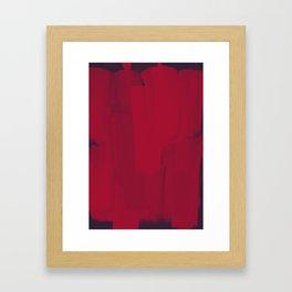 Boldly Anxious Framed Art Print