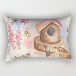 Foxglove Rectangular Pillow