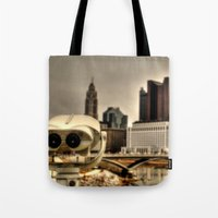 wall e Tote Bags featuring Wall E? by BradBrunstetter