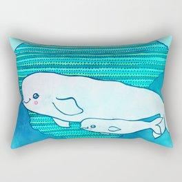 Belugas Rectangular Pillow