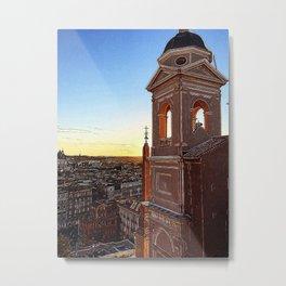 Rome at Dawn Metal Print