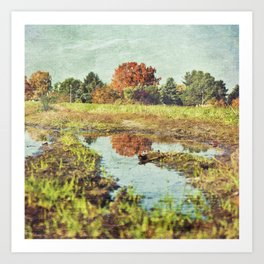 Red Rudow Art Print