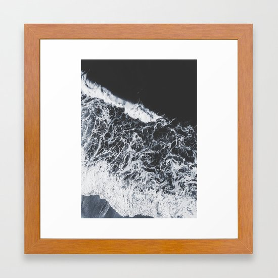 sea lace Framed Art Print by ingz   Society6