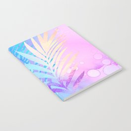 Tropical Breeze palm fronds Notebook