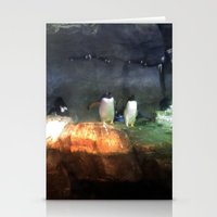 pittsburgh Stationery Cards featuring Pittsburgh Penguin by JordyAnn