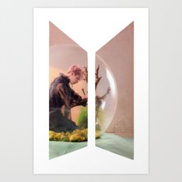 BTS Love yourself answer Jungkook Art Print