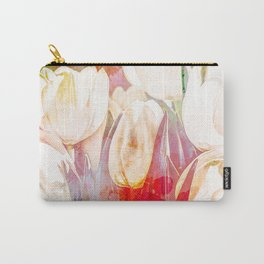 Tulip Fever Abstract Art Carry-All Pouch