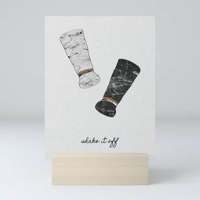 Shake It Off, Food and Drink Mini Art Print